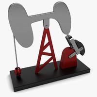 3d model oil pump accessory