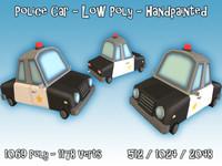 police car dxf