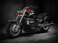 3d model of triumph rocket triple