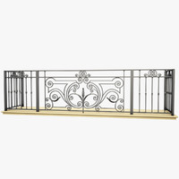wrought iron balcony max