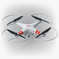 RC Quadro Copter With Video Camera V2