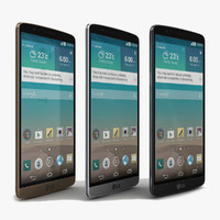 3d lg g3 black white model