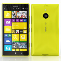 nokia lumia 1520 3d 3ds