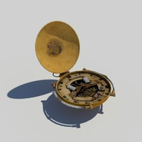 3ds max steampunk watch