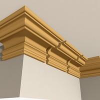maya interior cornice molding