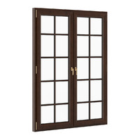 3d model wooden window 1730mm x