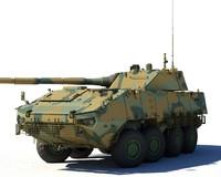 russian wheeled tank boomerang max