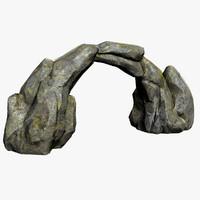 maya stone arch