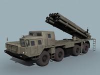 9a52-2 bm-30 smerch 3ds