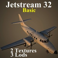 3d model of british aerospace 32 basic