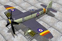 Hawker Sea Fury FBXI