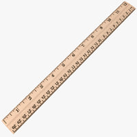 maya wood ruler