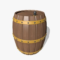 maya wooden barrel