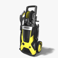 electric pressure washer 3d model