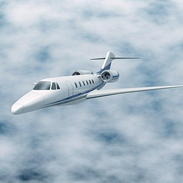 Cessna Citation X private jet