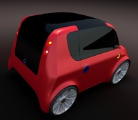 3ds max compact car 7