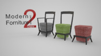 Modern Furniture 2: Chairs