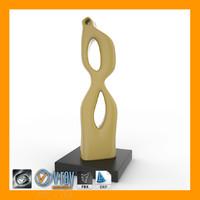 3d model sculpture 04