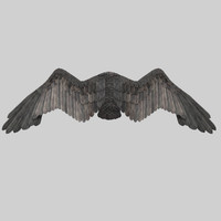 eagle s wings 3d max