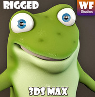 max cartoon character frog