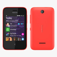 Nokia Asha 230 - Bright Red