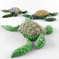 turtle toy 3d model