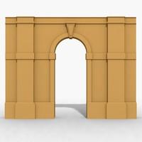 arches 3d max