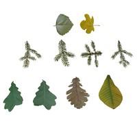 3d leaves model