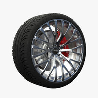 3d advanti forza wheel model
