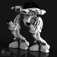 robot 3d 3dm