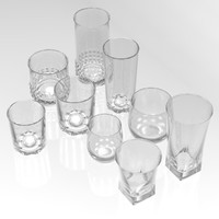 Eight Drinking Glasses