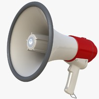 megaphone phone obj