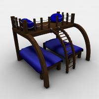 3d parallel bunks