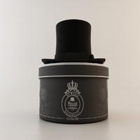 3d model victorian hat