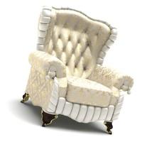 classic armchair 3d ma