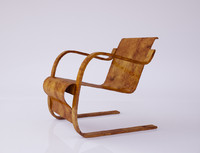 chair alvaro aalto 3d model
