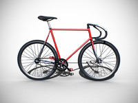 Classic Fixed Gear Bicycle