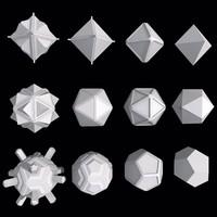 maya geometric shape mht-01