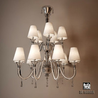 Barovier Toso 5587 Maryland Chandelier