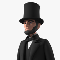 Toon Lincoln with Tophat