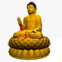 3d model buddha statues