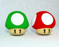 3d model of mushroom mario