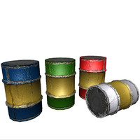 3ds barrels lod ready