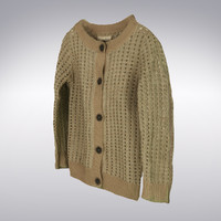 3d max women s cardigan scanning