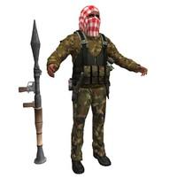 3ds max al terrorist
