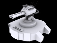 medium laser turret max