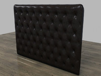 chesterfield wall panel 3d max