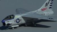 ling-temco-vought a-7 corsair ii obj