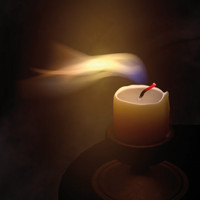 candle animation c4d