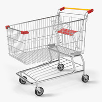 3d max shopping cart